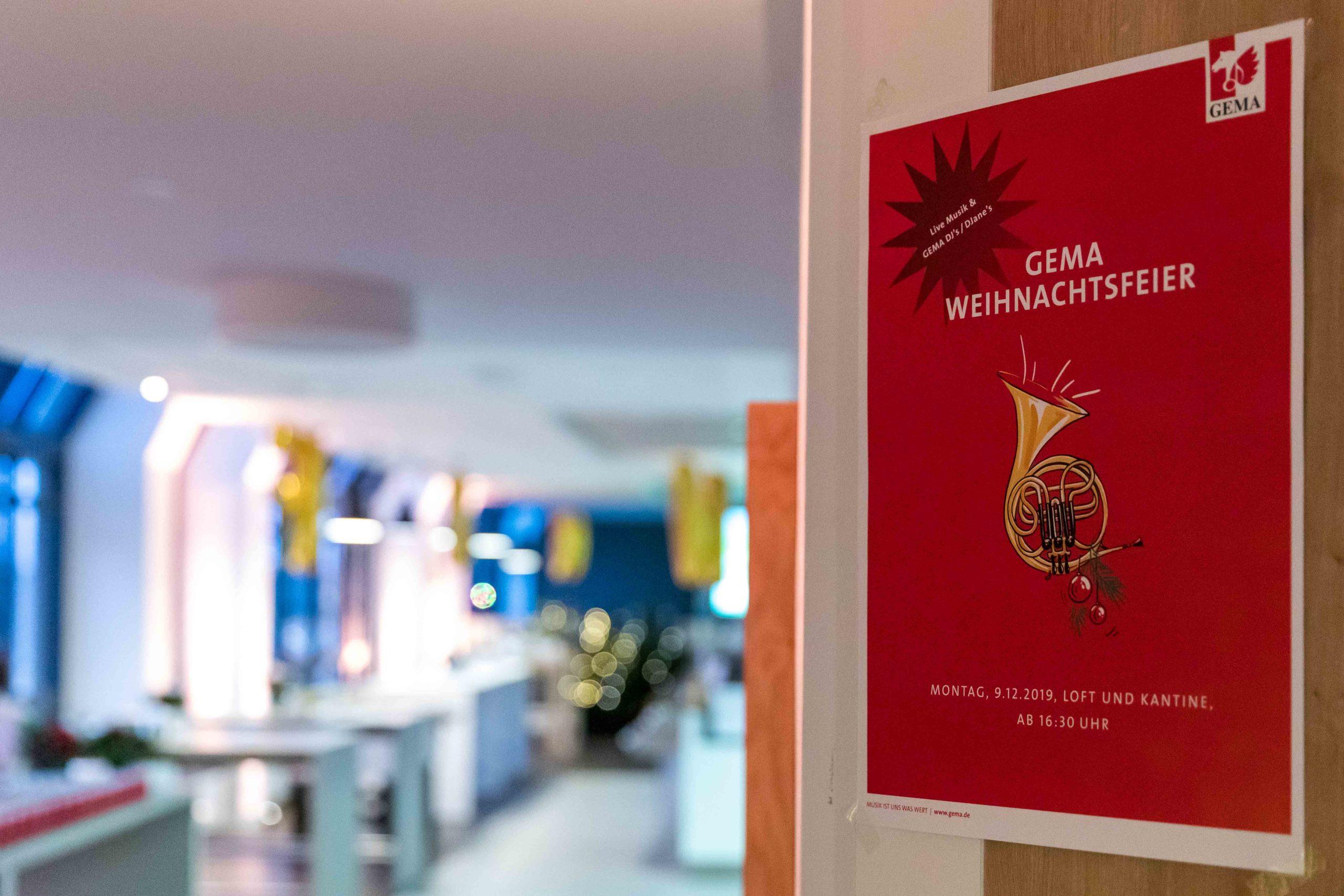 Eventfotografie Events München Anja Richter Fotografie GEMA Weihnachtsfeier 2019-1